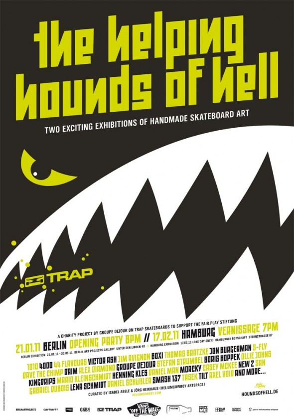 TheHelpingHoundsOfHell Poster-590x842 in Helping Hounds of Hell