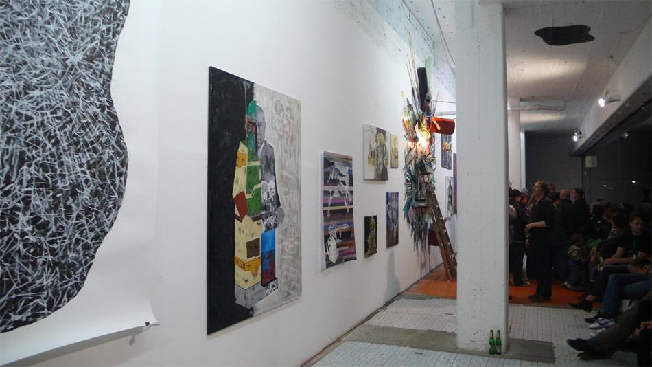 Eroeffnung in BROKE @ Schau Fenster Berlin
