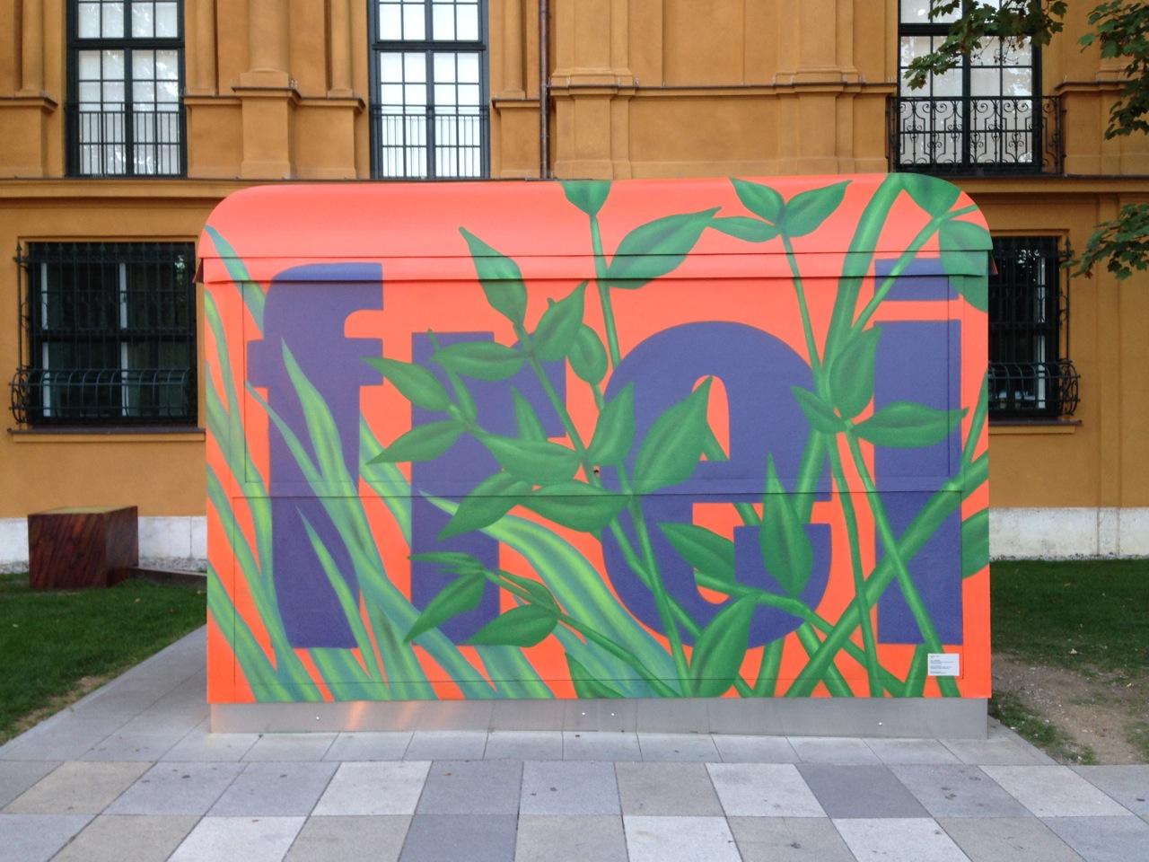 020 in EIS, EISBABY am Lenbachhaus, München